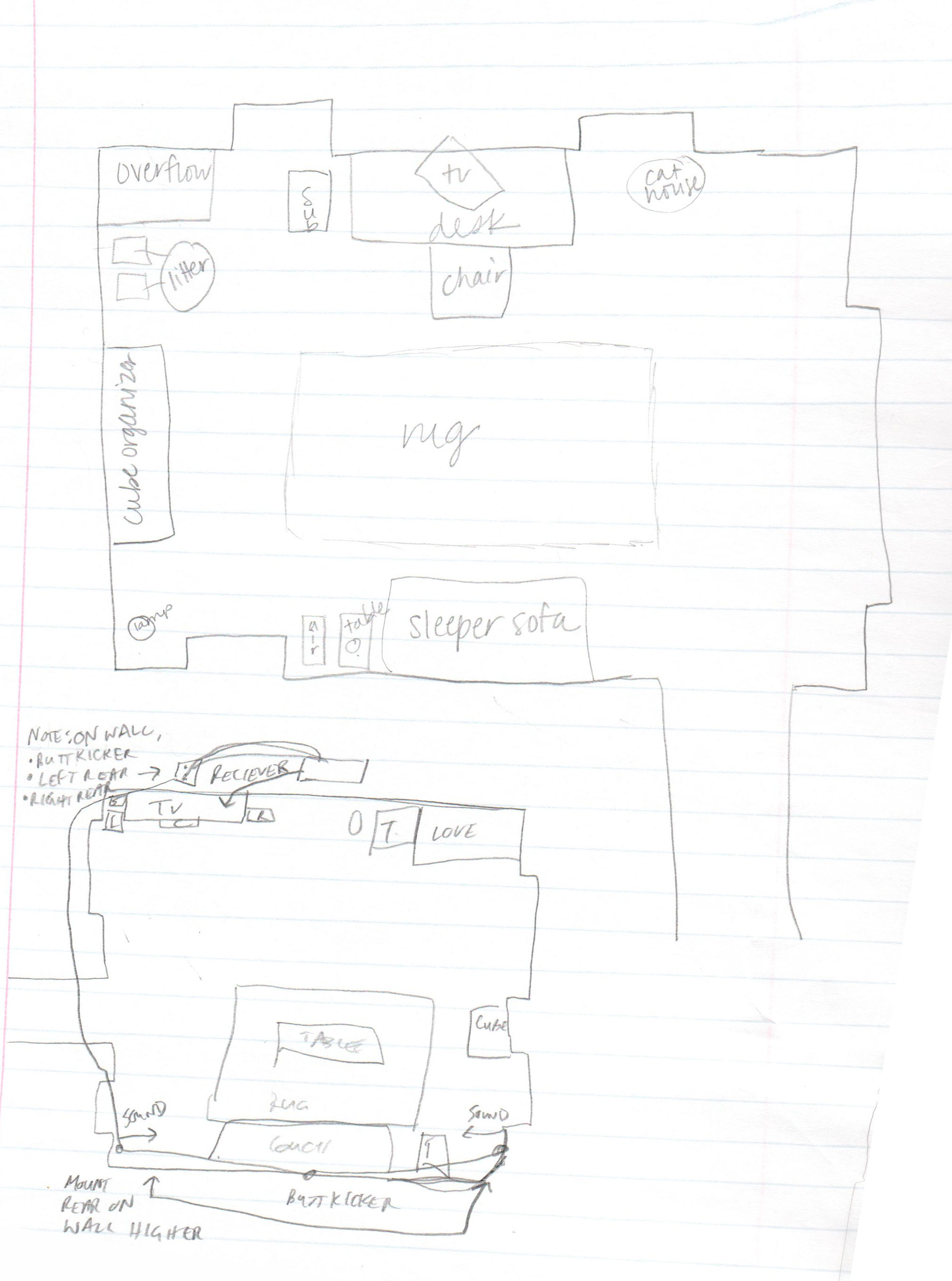 First Floor Townhouse Layout