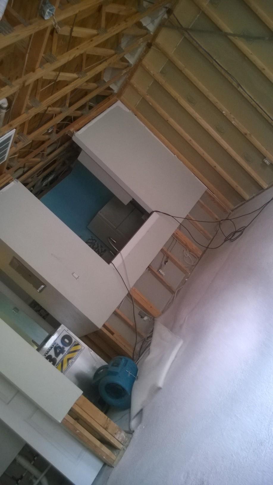 Nevis - Christmas 2014 Flood - Living Room