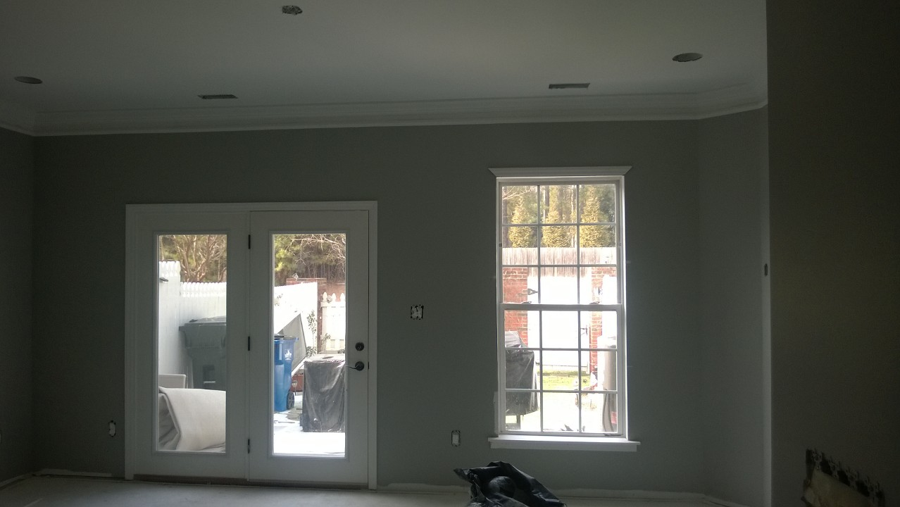 Sherwin Williams paint in the living room