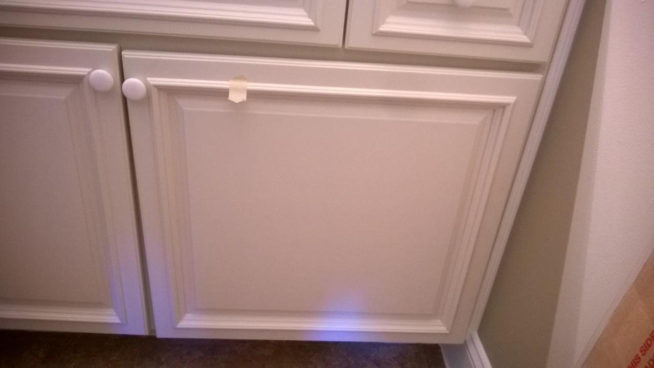 Builder Services - Hanging vanity door