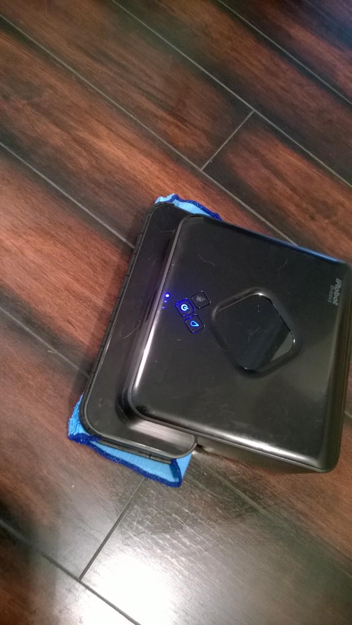 New iRobot 380t wet/dry hardwood floor cleaner