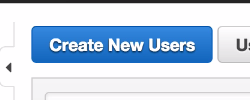 AWS Create New Users