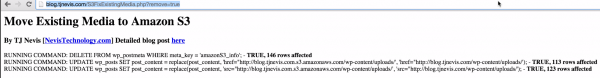 Rolling Back WP Offload S3 Existing Media Fix Script